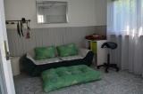 Welpenhaus-  Blick in den Raum